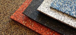 Резиновая плитка: типы, способы крепления, преимущества