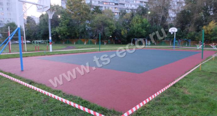 Покрытие волейбольной площадки