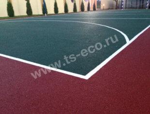 Покрытие для баскетбольной площадке
