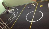 Резиновое напольное покрытие рулонное для детских и спортивных площадок