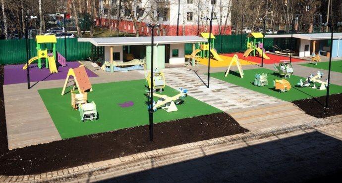 Безопасность детской площадки