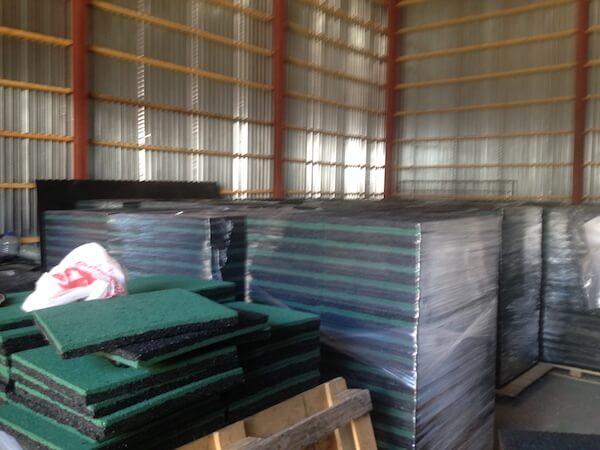 Плитка из резиновой крошки напрямую с завода