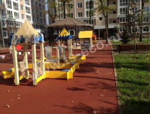 Детская площадка ЖК Николин Парк