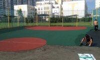 Спортивные площадки с травмобезопасным покрытием из резиновой крошки