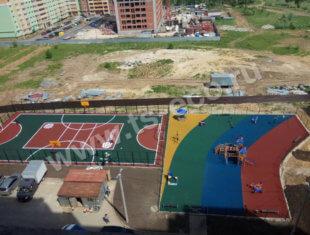 покрытие для детских площадок рязань