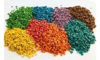Цветная резиновая крошка от наших партнеров