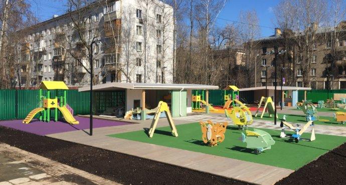 какое нужно покрытие для детской площадки