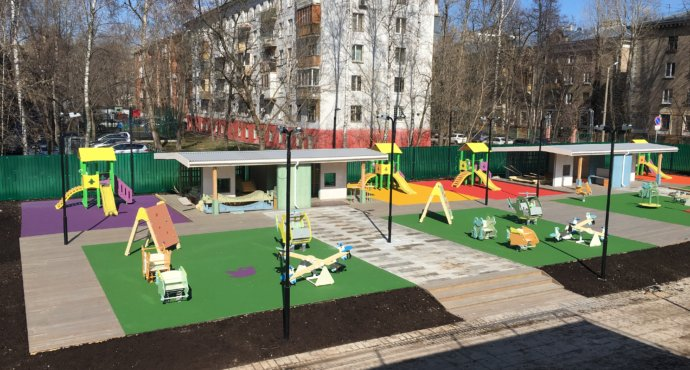 как выбрать покрытие для детского сада.