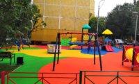 Яркие детские площадки с использованием резиновой EPDM крошки от компании «ТС-ЭКО»