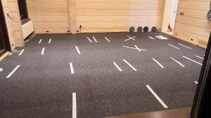 Какое покрытие лучше выбрать для домашнего спортзала