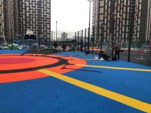 Экологическая безопасность резинового покрытия для детских площадок
