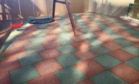 На что обратить внимание при выборе резиновой плитки для детской площадки.