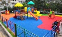 Детская площадка без луж!