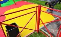Плюсы и преимущества покрытия из каучуковой крошки EPDM на уличной площадке