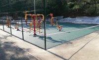 Как резиновое покрытие на детских площадках эксплуатируется в зимних условиях